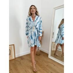 Robe CONSTANCE (bleue et...
