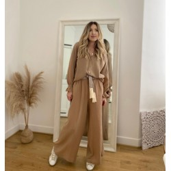 Pantalon Bill (camel)